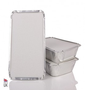 MAJESTIC  - Barquettes aluminium  4,70cm x 20,20cm x 20,20cm