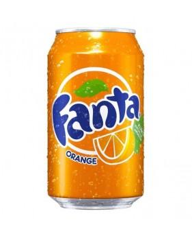 canette boisson FANTA - Orange