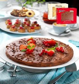 Gâteau - Tarte aux amandes et au Daim