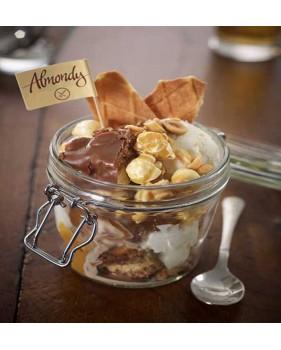 Pot ALMONDY - Tarte aux amandes et au Daim