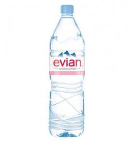 Evian bouteille