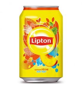 LIPTON - Ice tea Pêche canette
