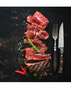 Entrecôte de Bœuf maturé à 30 jours coupé