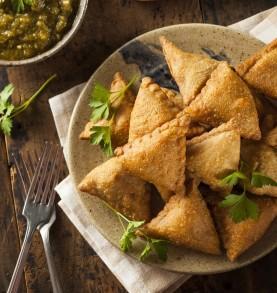 50 Samosas artisanales aux légumes