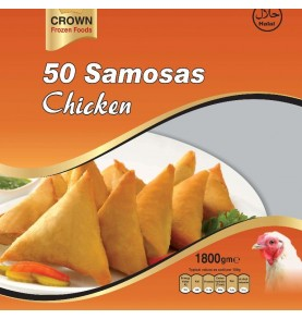 CROWN FROZEN FOODS - Samosas artisanales au poulet