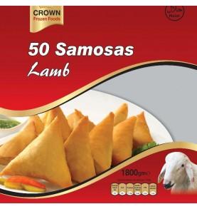 50 Samosas artisanales à l'agneau