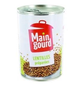 MAIN GOURD- Lentilles préparées