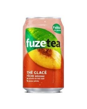 Canette FUZE TEA  - Thé glacé à la pèche