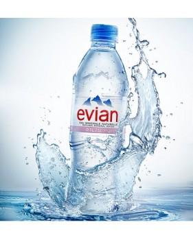 EVIAN - Eau minérale 50cl