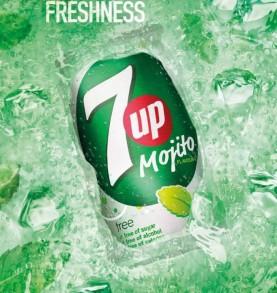 soda SEVEN UP - Mojito