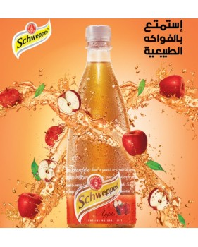 bouteille SCHWEPPES - Pommes