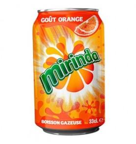 canette MIRINDA - Orange