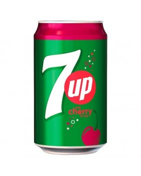 SEVEN UP - Cherry canette