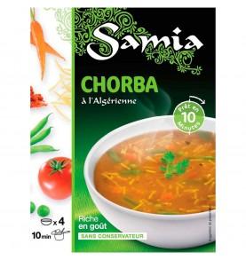 SAMIA - Chorba à l'Algérienne boite