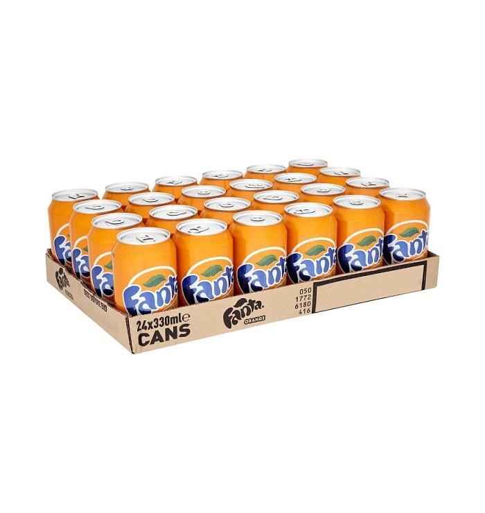 pack canette FANTA - Orange