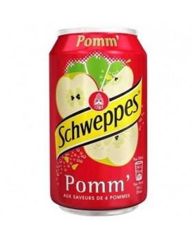 canette SCHWEPPES - Pommes