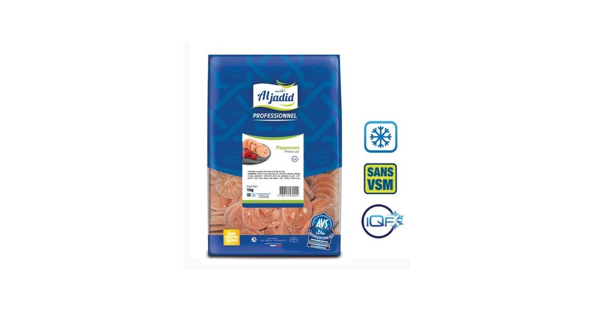 ALJADID - Pepperoni Chorizo