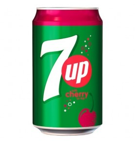 SEVEN UP - Cherry canette boisson