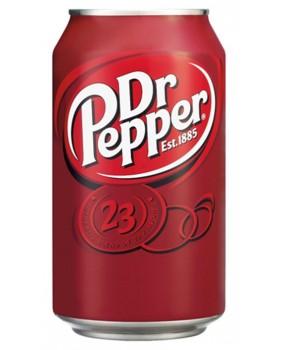 Canette de 33cl dr pepper
