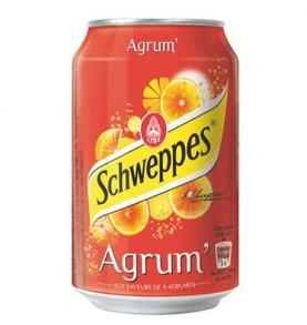 boisson canette SCHWEPPES - Agrumes
