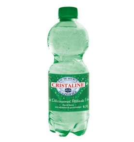 Cristaline eau gazeuse 24 x 50 cl