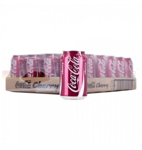 pack canettes COCA-COLA - Cherry