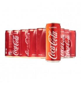 COCA-COLA slim canette pack