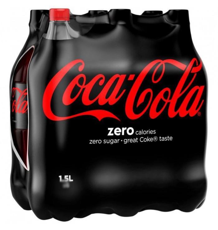 pack bouteilles COCA-COLA - Zéro sucres