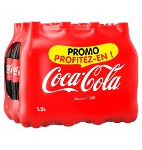 pack bouteille COCA-COLA fraiche
