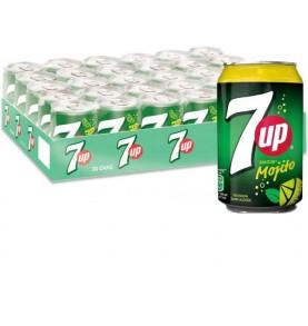 pack SEVEN UP - Mojito canette boisson