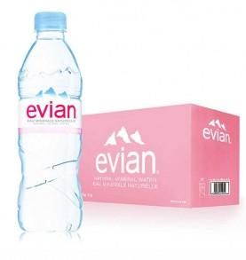 pack EVIAN - Eau minérale 50cl