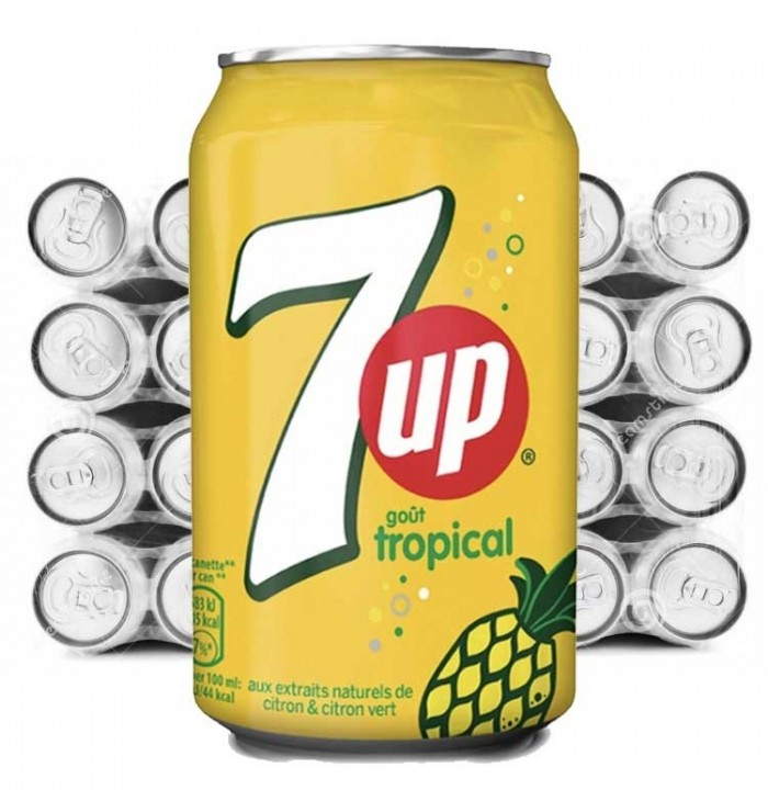 Pack SEVEN UP - Tropical