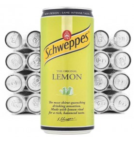 pack canette SCHWEPPES - Citron