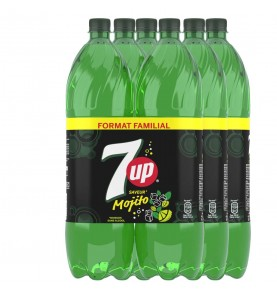 SEVEN UP - Mojito pack bouteilles