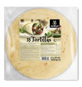 antalya tortilla frais 30 cm x 108 pièces