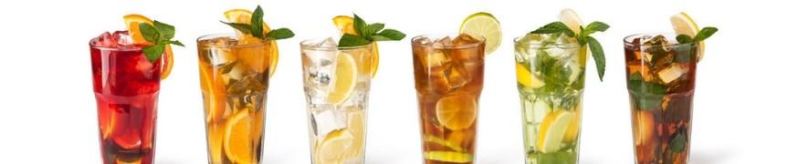 La meilleure sélection de boissons gazeuses, jus, eaux aromatisés !